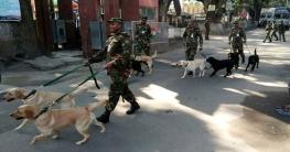 ভারত ১০টি কুকুর উপহার দিল বাংলাদেশ সেনাবাহিনীকে