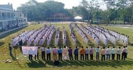 গোপালগঞ্জে মাদক প্রতিরোধে ৭০০ শিক্ষার্থীর শপথ