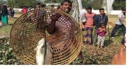 ২শ বছরের পুরনো গ্রাম-বাংলার ঐতিহ্যবাহী 'পলো বাওয়া' উৎসব