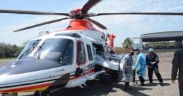 করোনা রোগী বহন করবে বিমানবাহিনীর বিশেষ হেলিকপ্টার