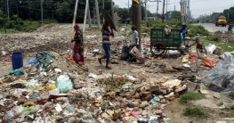 টাঙ্গাইল শহরের তিনটি প্রবেশ পথেই ময়লার ভাগাড়