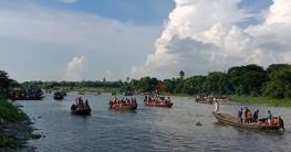 খুলনায় প্রতিমা বিসর্জনের মধ্য দিয়ে শেষ হচ্ছে শারদীয় দুর্গোৎসব