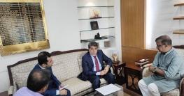 সংস্কৃতি প্রতিমন্ত্রী- আফগানিস্তান রাষ্ট্রদূত সাক্ষাৎ