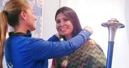 'ডটার অব দ্য আর্থ' উপাধি পেলেন নাজমুন নাহার