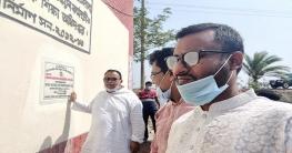 কয়রার সরকারি প্রা:বিদ্যালয়ের শ্রেণিকক্ষ উদ্বোধন করলেন এমপি বাবু