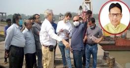 দিঘলিয়ার আড়ুয়া আতাই নদীর উপর সেতু নির্মাণে স্পেন প্রতিনিধিদল