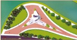 পূর্বাচলে তৈরি হচ্ছে দৃষ্টিনন্দন বঙ্গবন্ধু চত্বর