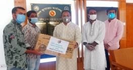 খুলনা জেলা পুলিশকে যুবলীগের স্বাস্থ্য সুরক্ষা সামগ্রী প্রদান