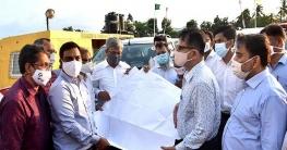 সওজ এর প্রধান প্রকৌশলীর 'ভৈরব সেতু' এলাকা পরিদর্শন